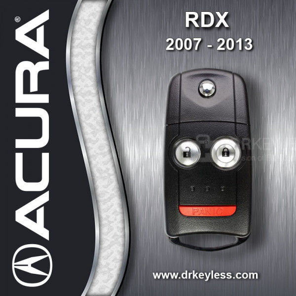 REFURBISHED Acura RDX Remote Flip Key 35111-STX-325 / N5F0602A1A / 2007 - 2013