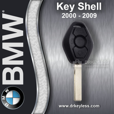 BMW 6-Serise Remote Head Key Shell