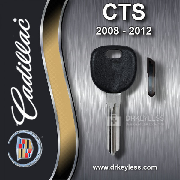 Aftermarket Cadillac CTS w/o Prox Z Keyway Shell / 2008 - 2012