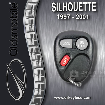 Oldsmobile Silhouette Keyless Entry Remote 3B 10245952 ABO0204T 1997 - 2001