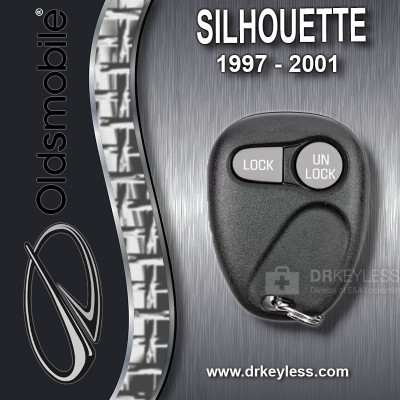 Oldsmobile Silhouette Keyless Entry Remote 2B without Anti-Theft 10245950 ABO0204T 1997 - 2001