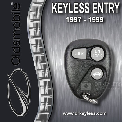 Oldsmobile Keyless Entry Remote 3B Trunk without Anti-Theft 16245103 AB01502T 1997 - 1999