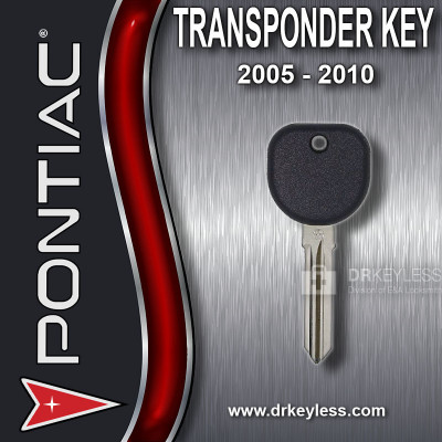 Aftermarket Pontiac Circle Plus Z Keyway Transponder / 2005 - 2010