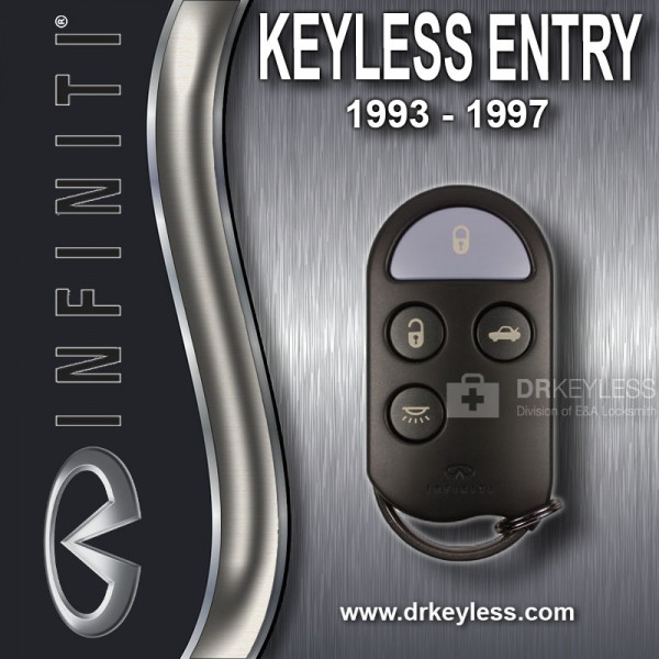 Refurbished Infiniti Keyless Entry Remote 4B / Trunk / A269ZJA073 / 1993 - 1997