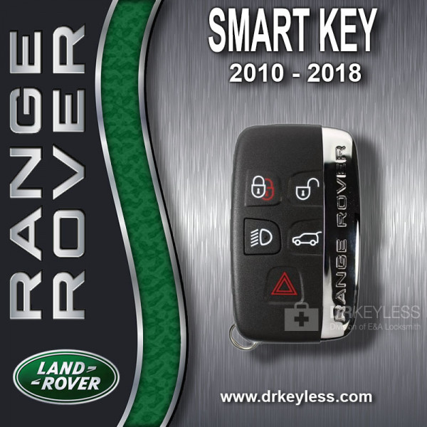 Land Rover Smart Key / 2010 - 2018