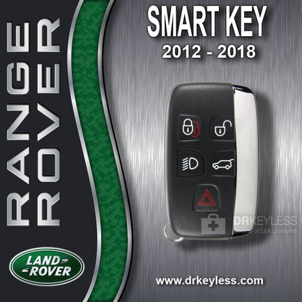 REFURBISHED Land Rover Smart Key / 5B Trunk - Lamps / KOBJTF10A / 2012 - 2018