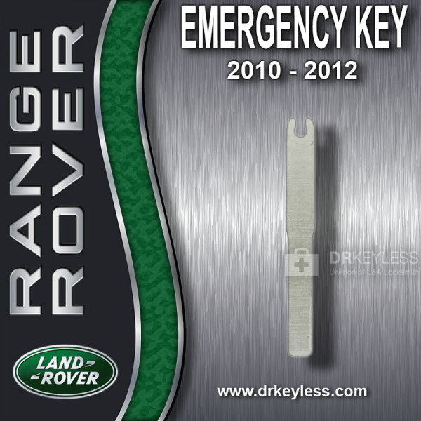 Aftermarket Land Rover Emergency Key / High Security / 2010 - 2012