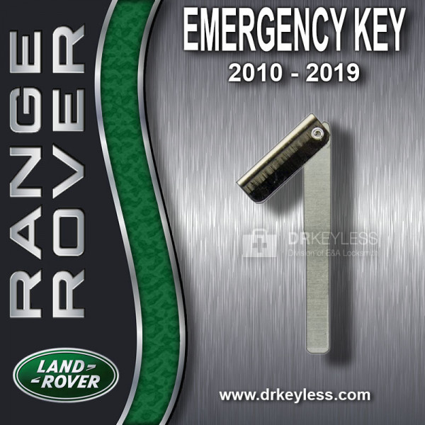 Aftermarket Land Rover Emergency Key / High Security / 2010 - 2019