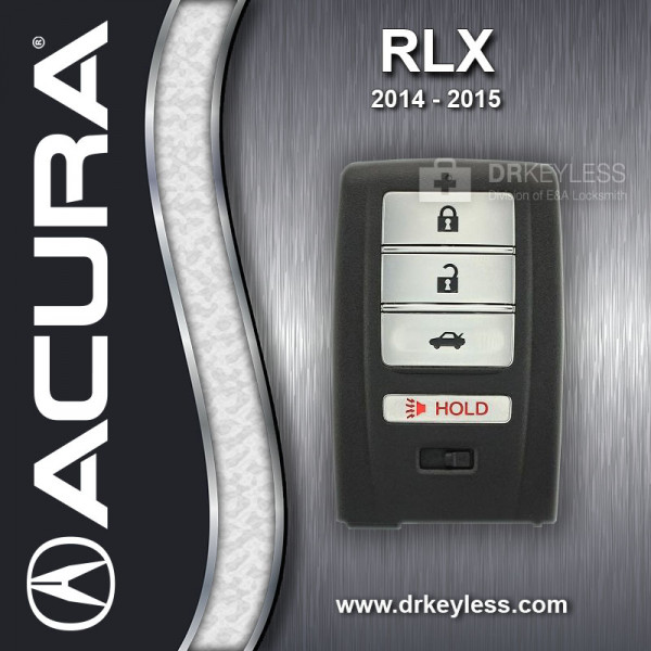 REFURBISHED Acura RLX Smart Key / 72147-TY2-A01 / ACJ932HK1210A
