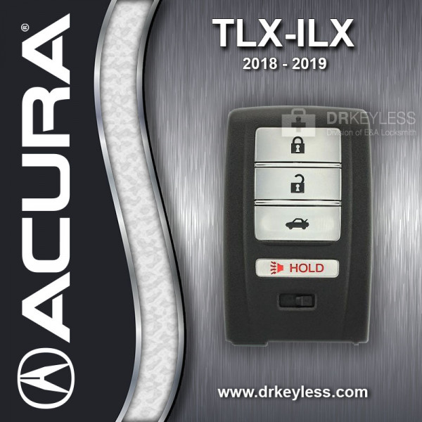 Acura ILX Smart Key / 72147-TZ3-A21 / KR5V21 / 2018 - 2019