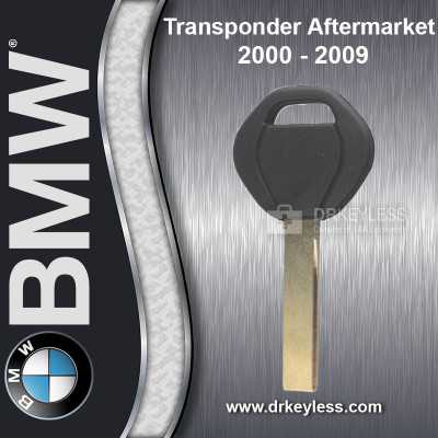 BMW X5 Small Head Transponder Key Aftermarket Brand