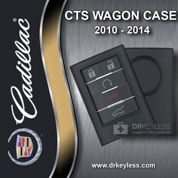 Cadillac CTS Wagon Smart Key Case 5B Hatch / Remote Start 2010 - 2014