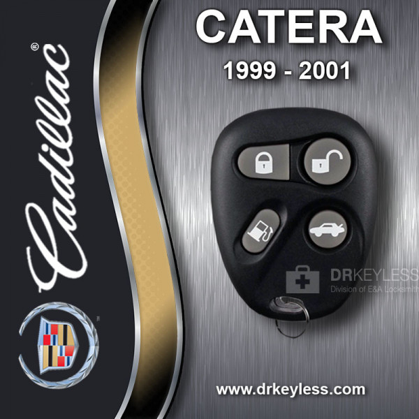 REFURBISHED Cadillac Catera Keyless Entry Remote 4B Trunk / Gas - 16245106 AB01602T 1999 - 2001