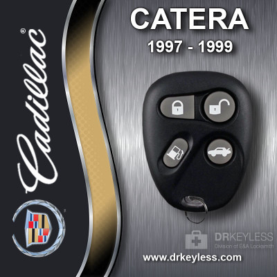 Cadillac Catera Keyless Entry Remote 4B Trunk / Gas - AB01602T 1997 - 1999