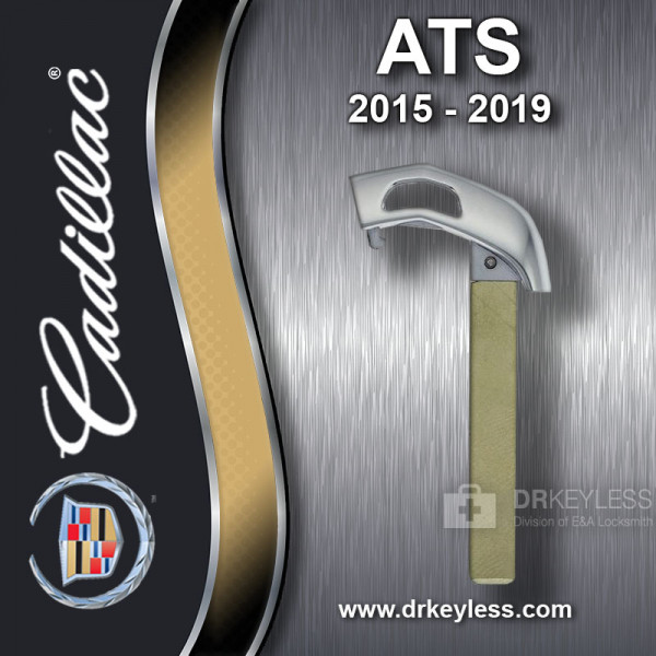 Aftermarket Cadillac ATS High Security Emergency Key 2015-2019