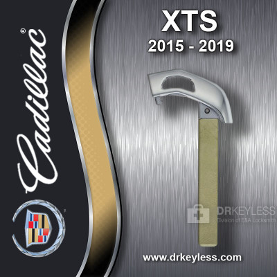 Aftermarket Cadillac XTS High Security Emergency Key 2015-2019