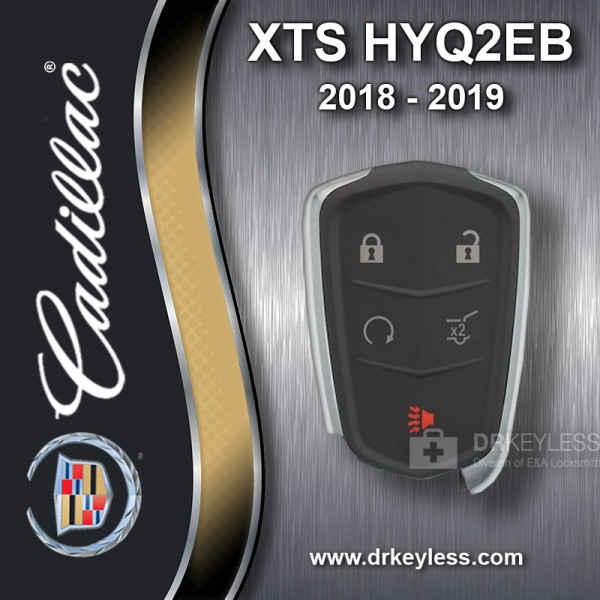 Cadillac XTS Smart Key 5B Hatch / Remote Start - HYQ2EB  2018 - 2019