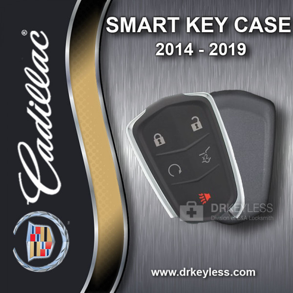 Cadillac CTS Smart Key Case 5B Trunk / Remote Start 2014 - 2019