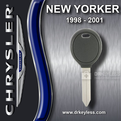 AFTERMARKET Chrysler New Yorker Transponder Key / 1998 - 2001