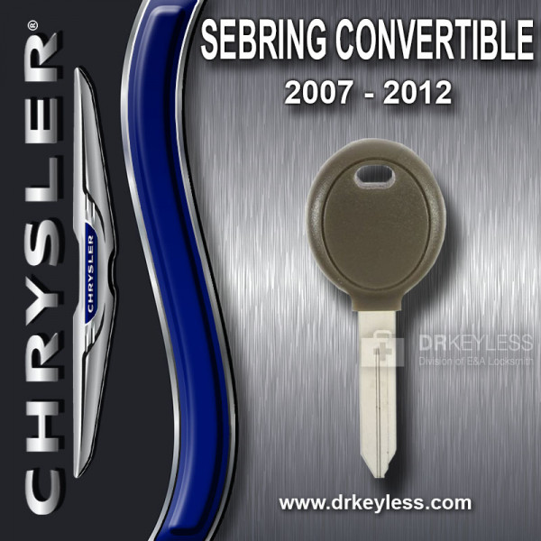Chrysler Sebing Convertible Transponder Key 692352 / 2007 - 2012