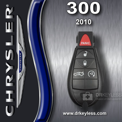REFURBISHED Chrysler 300 Smart Fobik Key 5B Trunk / Remote Start IYZ-C01C / 2010