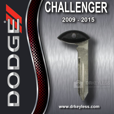 OEM Dodge Challenger Fobik Emergency Key / 2009 - 2015