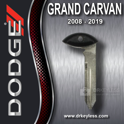 OEM Dodge Grand Caravan Fobik Emergency Key / 2008 - 2019