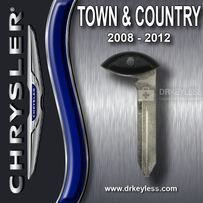 OEM Chrysler Town & Country Fobik Emergency Key / 2008 - 2015