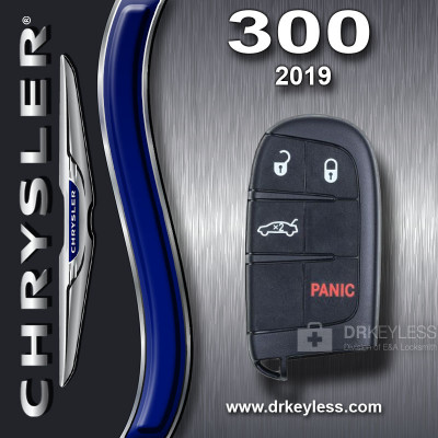 Chrysler 300 Smart Key 4B Trunk M3M-40021302 / 2019