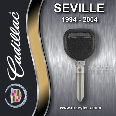 AFTERMARKET Cadillac Sevilla Carlo Large Head PK3 Transponder Key 1994-2004