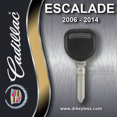 Aftermarket Cadillac Escalade Circle Plus Z Keyway Transponder / 2006-2014