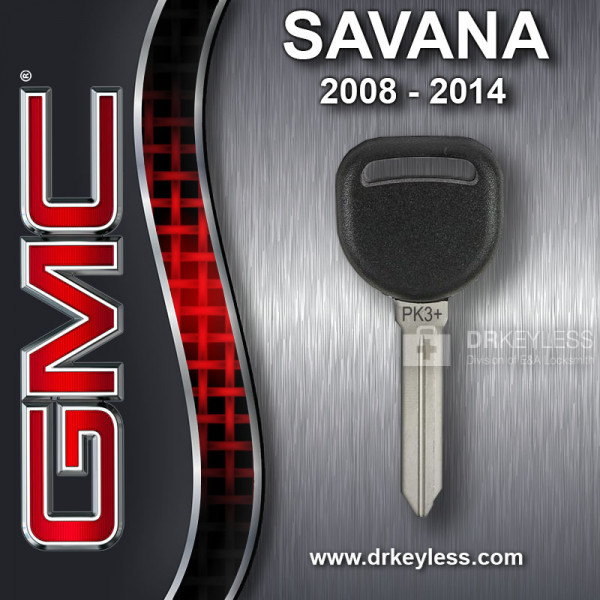 Aftermarket GMC Savana Circle Plus Z Keyway Transponder / 2008-2014