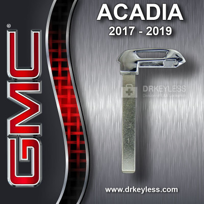 Aftermarket GMC Acadia Smart Key High Security Emergency Key Blade / 2017 - 2019