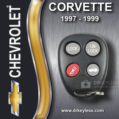 Chevrolet Corvette Keyless Entry Remote - 19299230 ELVATLB