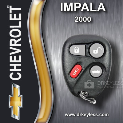 REFURBISHED Chevrolet Impala Keyless Entry Remote 4B Trunk 25678792 KOBUT1BT  2000