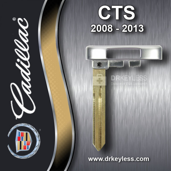 Aftermarket Cadillac CTS Smart Key Emergency Blade 2008-2013