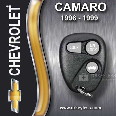 Chevrolet Camaro Keyless Entry Remote 3B Trunk without Anti-Theft 16245103 AB01502T 1996 - 1999