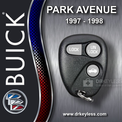 Buick Park Avenue Keyless Entry Remote 3B Trunk without Anti-Theft 16245103 AB01502T 1997 - 1998