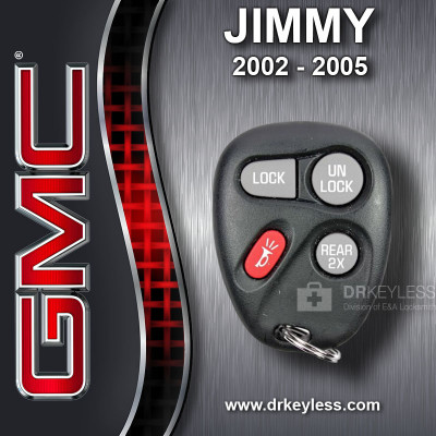 GMC Jimmy Keyless Entry Remote 4B 15043458 KOBLEAR1XT 2002 - 2005