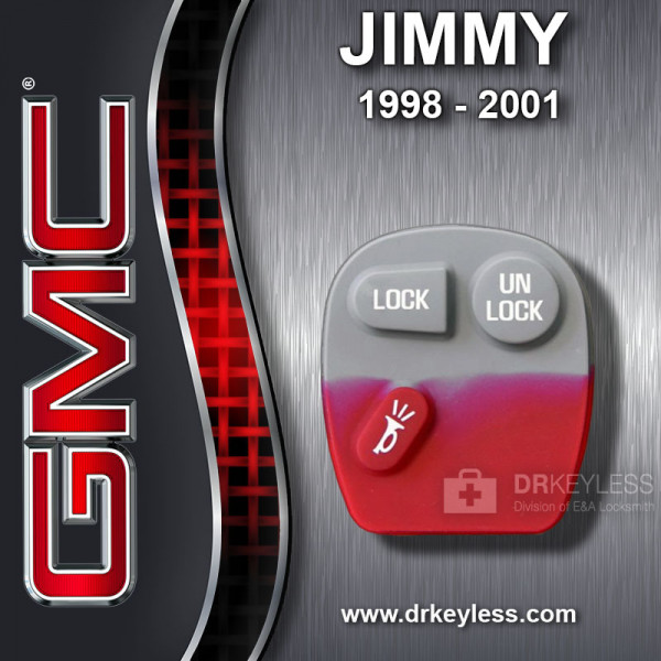 GMC Jimmy 3B Old Style Remote Rubber Pad / 1998 - 2001