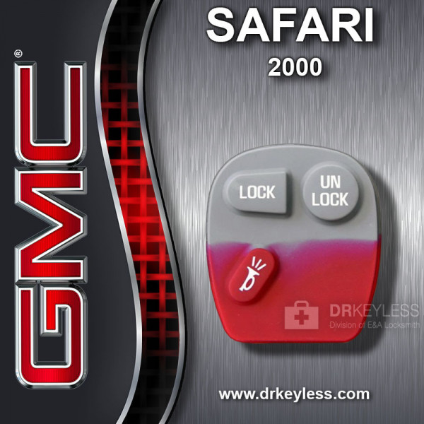GMC Safari 3B Old Style Remote Rubber Pad / 2000