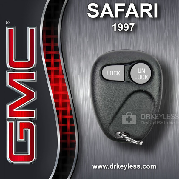 GMC Safari Keyless Entry Remote 2B without Anti-Theft 16245102 AB01502T 1997