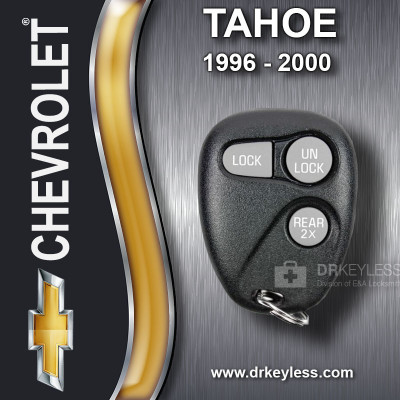 REFURBISHED Chevrolet Tahoe Keyless Entry Remote 3B Trunk 2X - 16245105 AB01502T 1996-2000