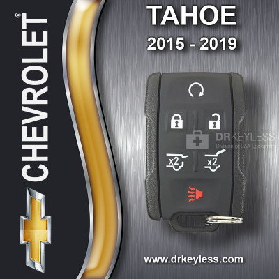 Chevrolet Tahoe Keyless Entry Remote 6B Hatch / Hatch Glass / Remote Start M3N32337200 (433) Mhz 2015 - 2019