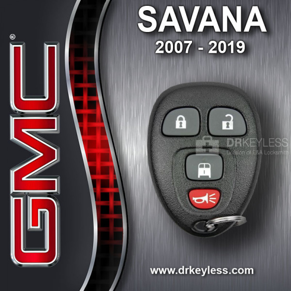REFURBISHED GMC Savana Keyless Entry Remote OUC60270 - OUC60221 / 2007 - 2019