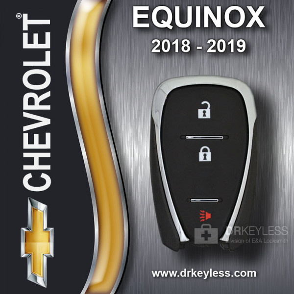 REFURBISHED Chevrolet Equinox Smart Key 3B HYQ4AA 2018 - 2019