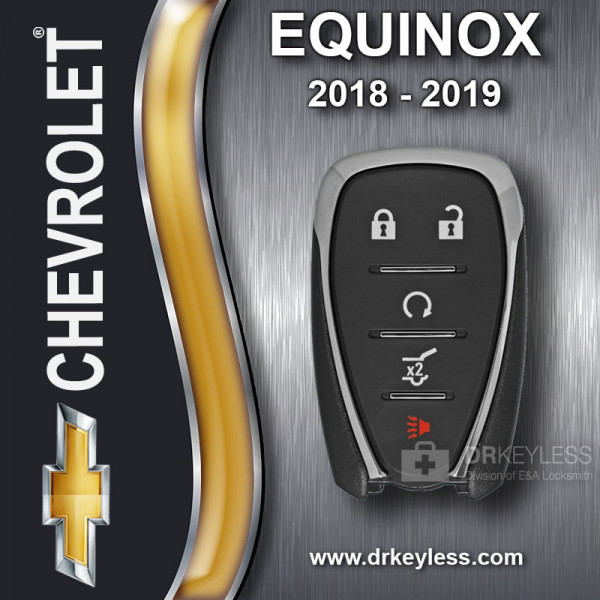 REFURBISHED Chevrolet Equinox Smart Key 5B Hatch / Remote Start HYQ4AA 2018 - 2019