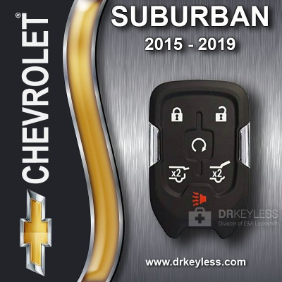 Chevrolet Suburban Smart Key 6B Hatch / Hatch Glass/ Starter HYQ1EA 2015 -2019