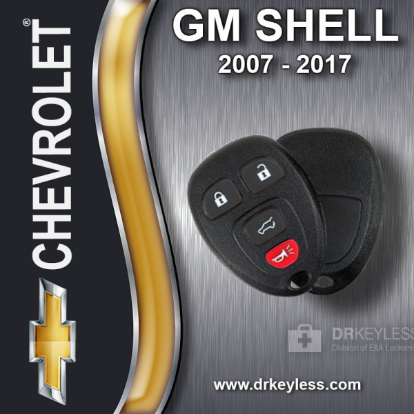 Chevrolet Avalanche Keyless Entry Remote Shell 4B Hatch for OUC60270 OUC60221 2007 - 2013