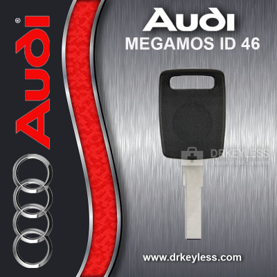 Audi ALLROAD Transponder Key Aftermarket Brand HU66AT6